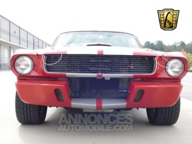 Ford Mustang 1966 Rouge Occasion - 9