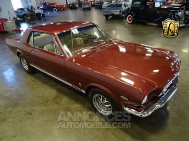 Ford Mustang 1966 Vintage burgandy Occasion - 1