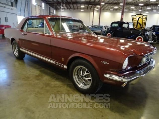 Ford Mustang 1966 Vintage burgandy Occasion - 2