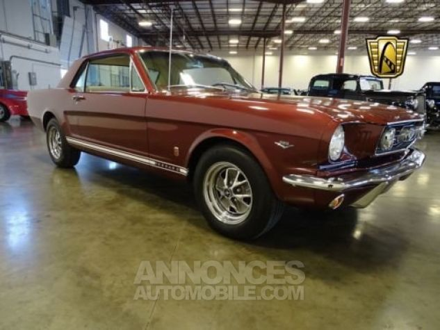 Ford Mustang 1966 Vintage burgandy Occasion - 3