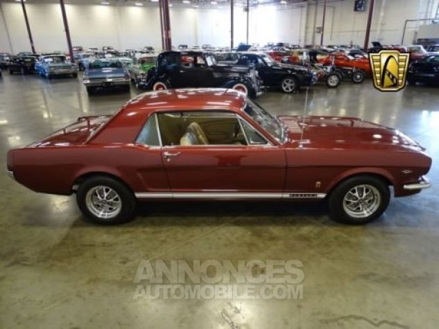Ford Mustang 1966 Vintage burgandy Occasion - 4