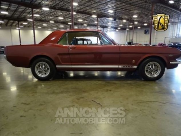 Ford Mustang 1966 Vintage burgandy Occasion - 5