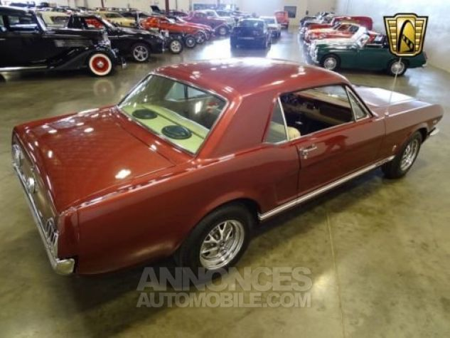 Ford Mustang 1966 Vintage burgandy Occasion - 6