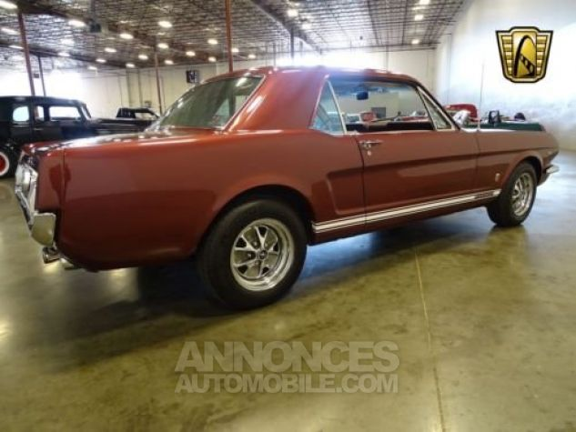 Ford Mustang 1966 Vintage burgandy Occasion - 8