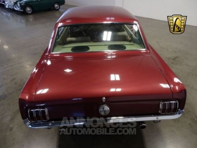 Ford Mustang 1966 Vintage burgandy Occasion - 9