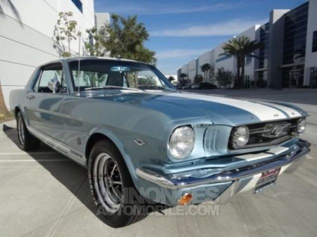 Ford Mustang 1966 Bleu Occasion - 0