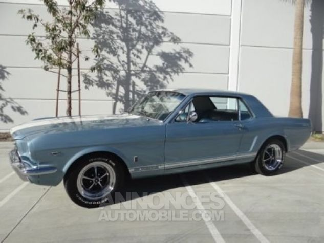 Ford Mustang 1966 Bleu Occasion - 3