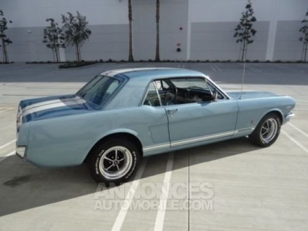 Ford Mustang 1966 Bleu Occasion - 5