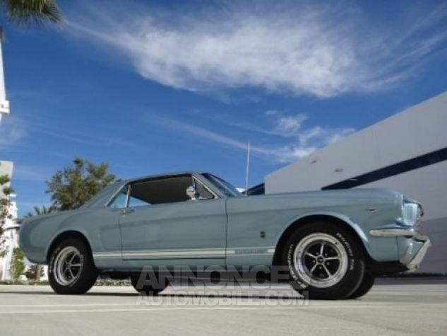 Ford Mustang 1966 Bleu Occasion - 6