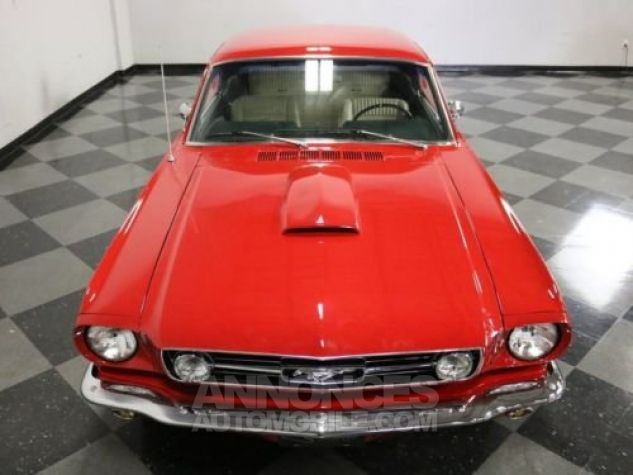 Ford Mustang 1966 Rouge Occasion - 4