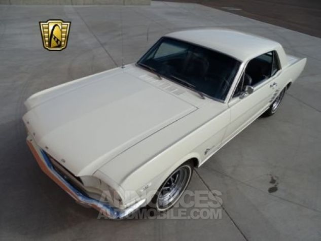 Ford Mustang 1966 Blanc Occasion - 3