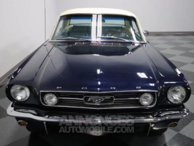 Ford Mustang 1966 Bleu Occasion - 4