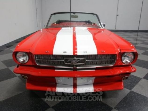 Ford Mustang 1966 Rouge Occasion - 3