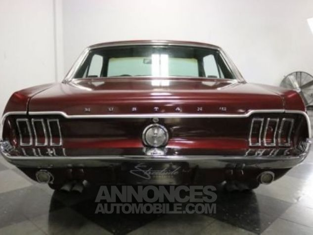 Ford Mustang 1967 Burgundy Occasion - 9