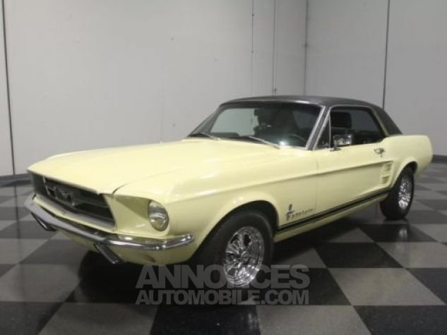 Ford Mustang 1967 Jaune Occasion - 6