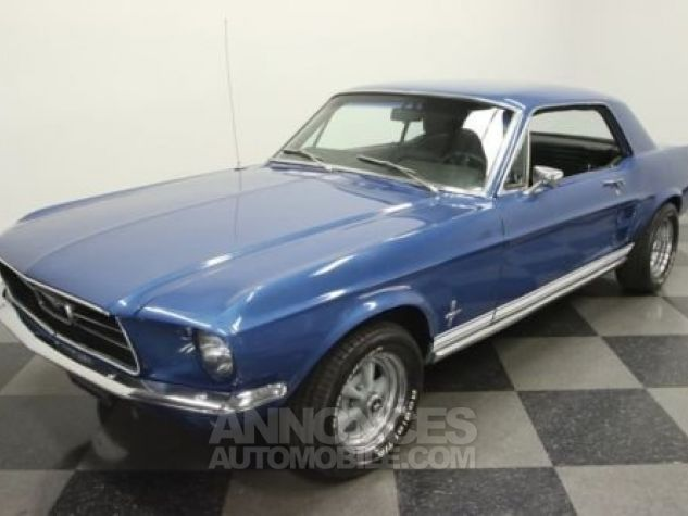 Ford Mustang 1967 Bleu Occasion - 5