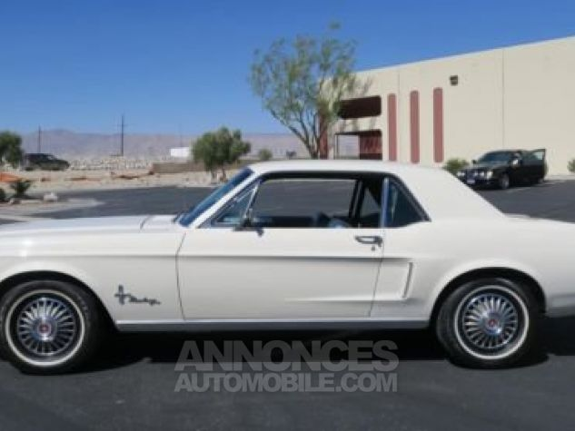 Ford Mustang 1968 Blanc Occasion - 2