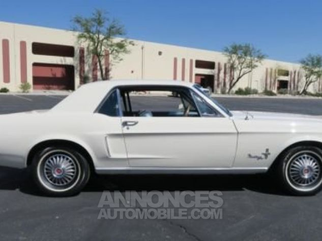 Ford Mustang 1968 Blanc Occasion - 3