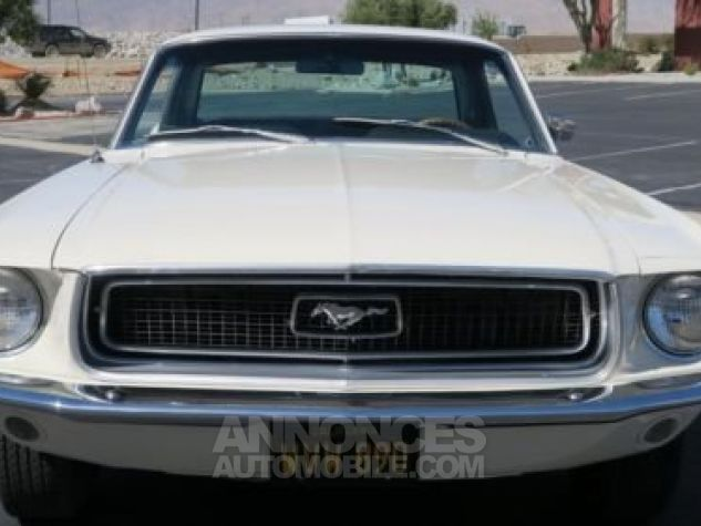 Ford Mustang 1968 Blanc Occasion - 4