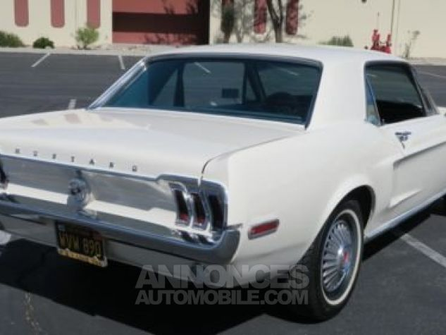 Ford Mustang 1968 Blanc Occasion - 5