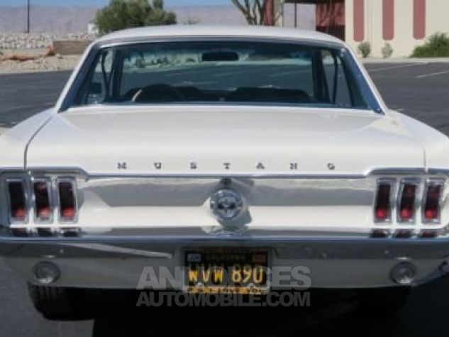 Ford Mustang 1968 Blanc Occasion - 6