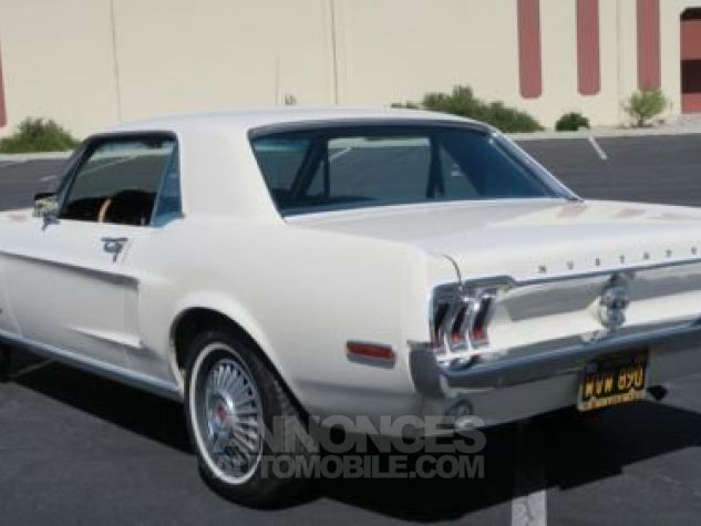 Ford Mustang 1968 Blanc Occasion - 7