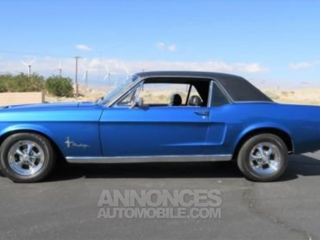 Ford Mustang 1968 Bleu Occasion - 1