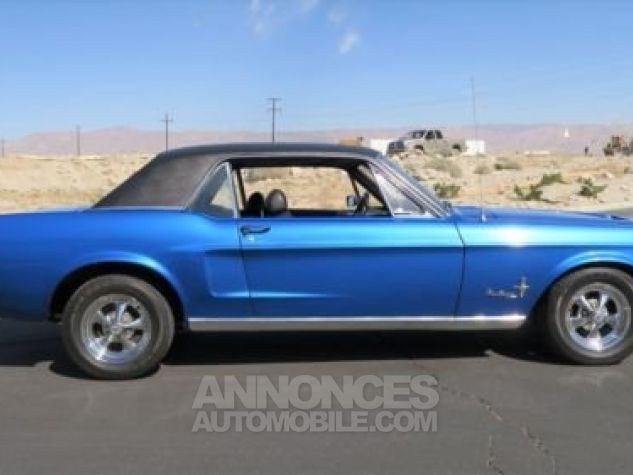 Ford Mustang 1968 Bleu Occasion - 2