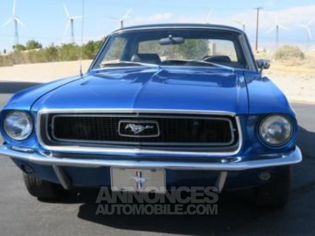 Ford Mustang 1968 Bleu Occasion - 3