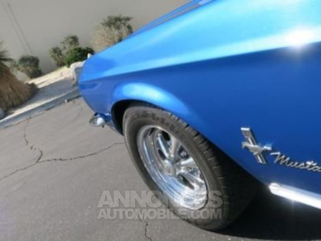 Ford Mustang 1968 Bleu Occasion - 8