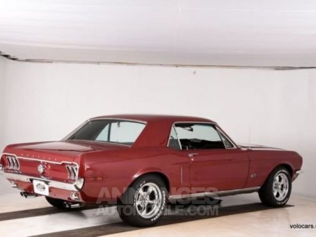 Ford Mustang 1968 Burgundy Occasion - 1