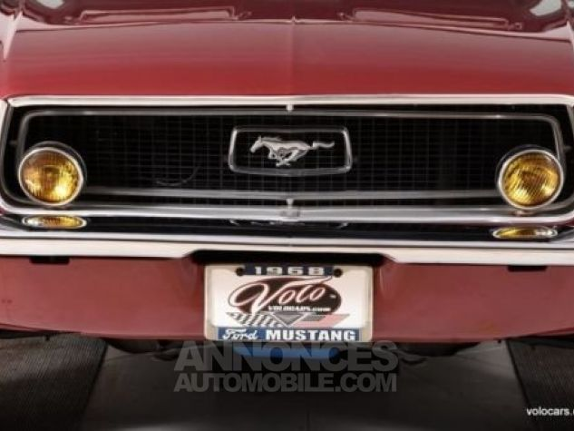 Ford Mustang 1968 Burgundy Occasion - 3