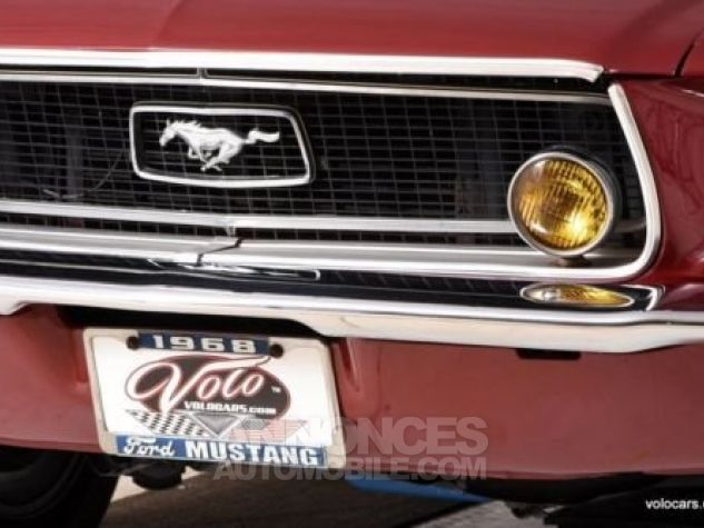 Ford Mustang 1968 Burgundy Occasion - 9