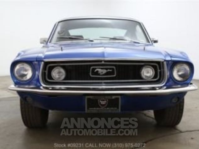 Ford Mustang 1968 Bleu Occasion - 0