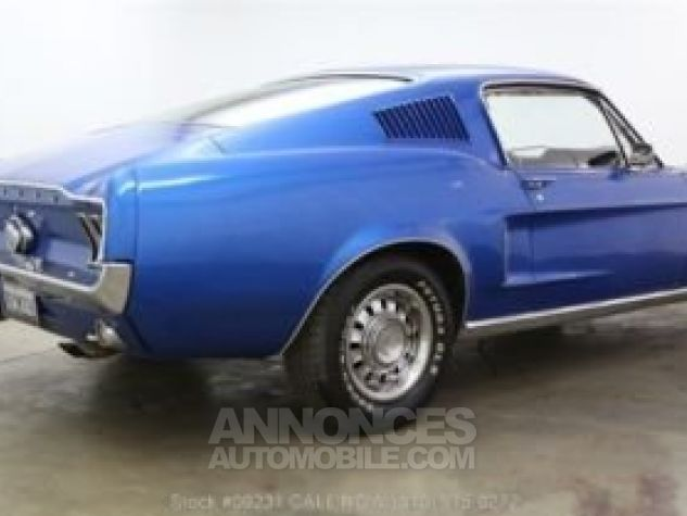 Ford Mustang 1968 Bleu Occasion - 4