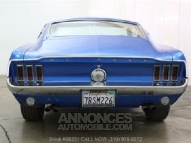 Ford Mustang 1968 Bleu Occasion - 5