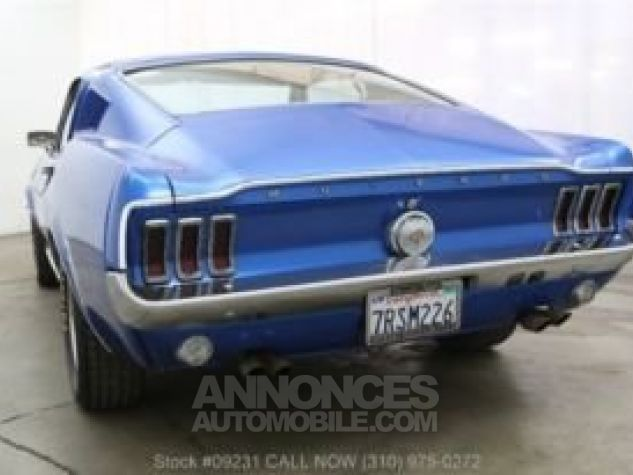Ford Mustang 1968 Bleu Occasion - 6