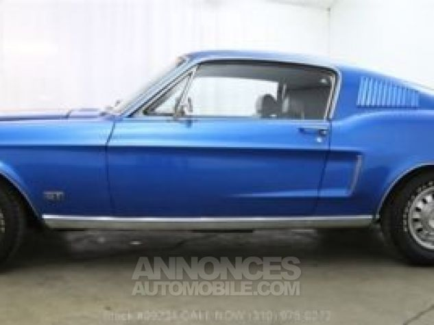 Ford Mustang 1968 Bleu Occasion - 7