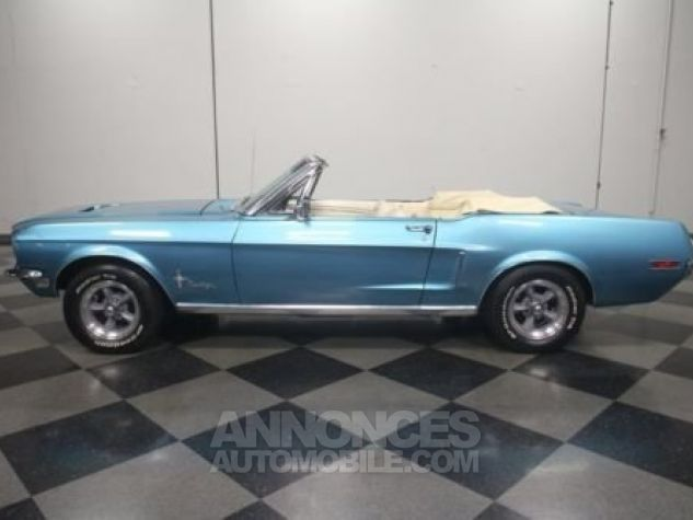 Ford Mustang 1968 Teal Occasion - 0