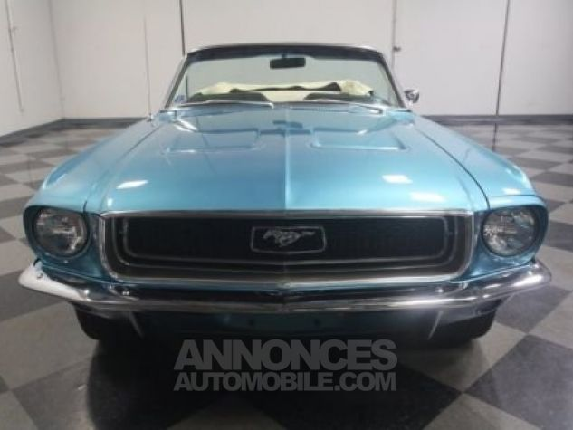 Ford Mustang 1968 Teal Occasion - 3