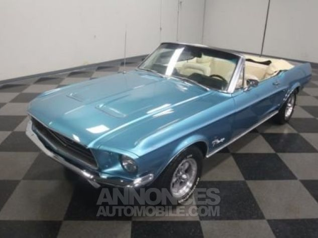 Ford Mustang 1968 Teal Occasion - 7