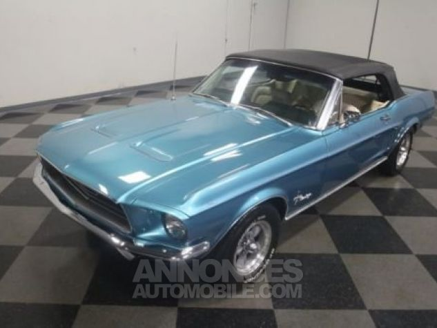 Ford Mustang 1968 Teal Occasion - 8