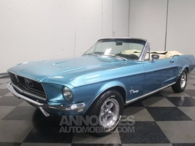 Ford Mustang 1968 Teal Occasion - 9