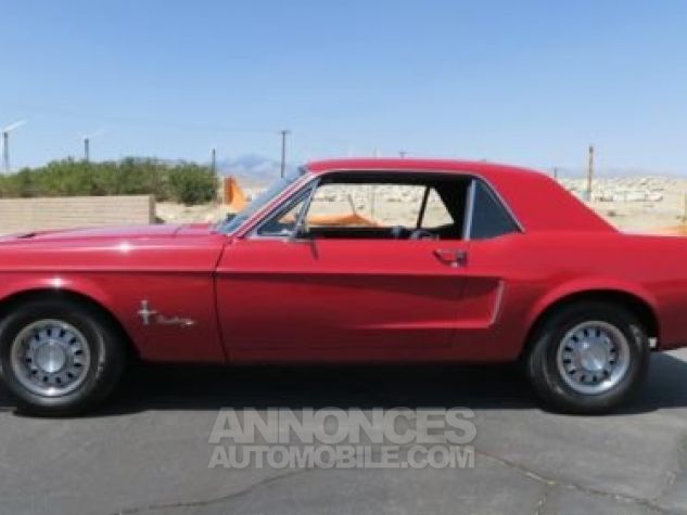 Ford Mustang 1968 Rouge Occasion - 1