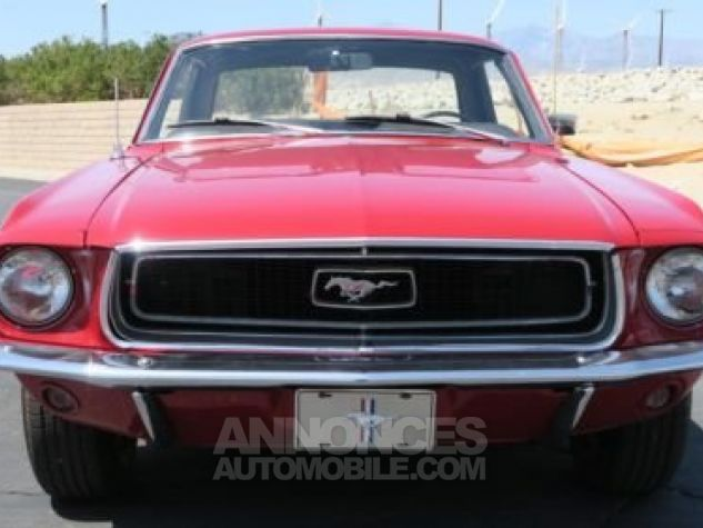 Ford Mustang 1968 Rouge Occasion - 3