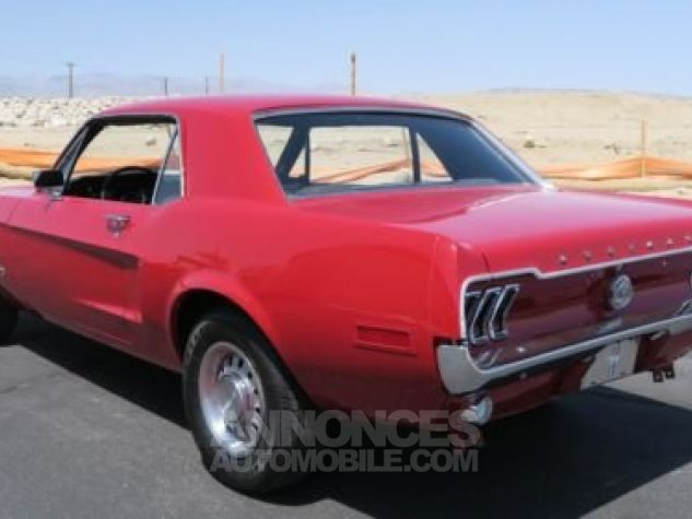 Ford Mustang 1968 Rouge Occasion - 5