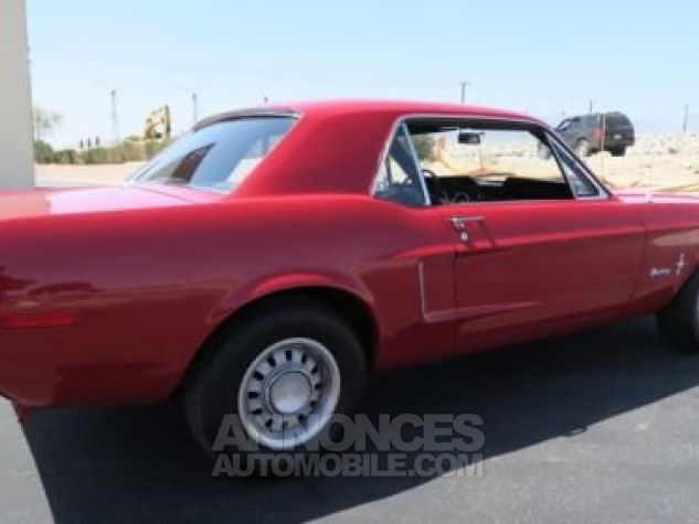 Ford Mustang 1968 Rouge Occasion - 6