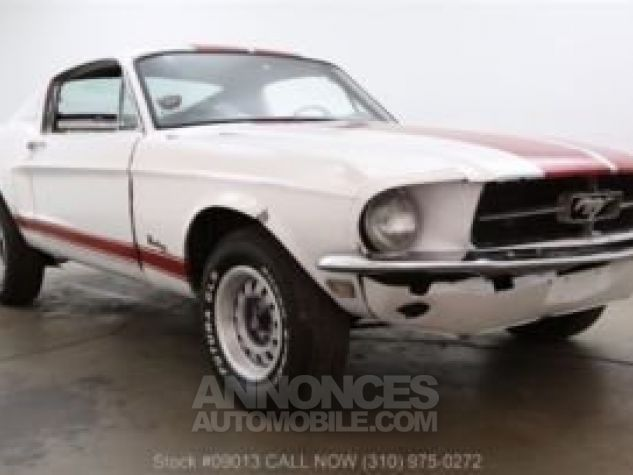 Ford Mustang 1968 Blanc Occasion - 1