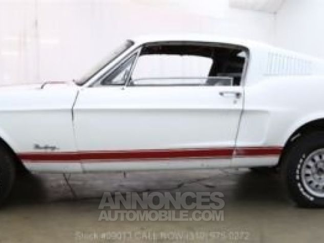 Ford Mustang 1968 Blanc Occasion - 8