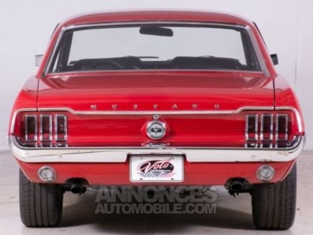 Ford Mustang 1968 Rouge Occasion - 2